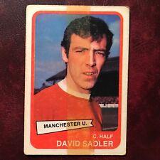 1968/69 A&BC Footballer Set DAVID SADLER #12 MANCHESTER UNITED