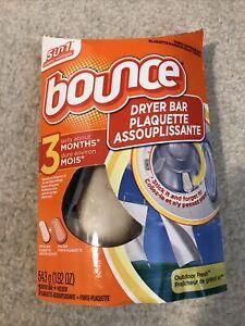 Bounce Dryer Bar Starter Kit 3 Months Outdoor Fresh Scent Fabric Softener NEW