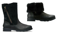 GOT SNOW? NEED BOOTS! SOREL Women's Emelie Foldover Boot for Winter - 9M  Black