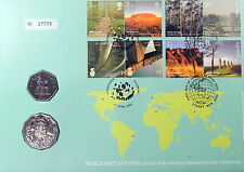 2005 WORLD HERITAGE AUSTRALIA with Scarce 50cent  PNC Superb Example