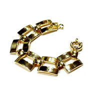 Bijou alliage doré bracelet moderniste bangle