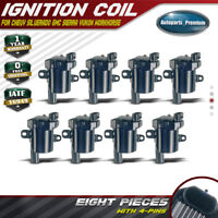 set of 8 Ignition coil Coils for Chevrolet GMC Silverado 5.3L 6.0L 4.8L UF-262