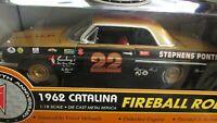 1962 Fireball Roberts Smokey Yunick Daytona 500 Win Pontiac V8 Ertl 1 18 Diecast