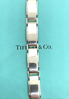 "Tiffany & Co. Sterling Silver Metropolis Mens Bracelet. 8""."