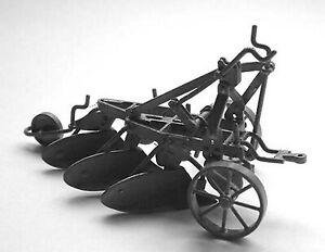 3 furrow plough hydraulic linkage M13 UNPAINTED O Scale Langley Model Kit Metal