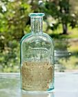 AUGUSTIA+MAINE++1880%27s+LABELED+Druggist++F.W.+KINSMAN+4+1%2F2%22+Perfume+Bottle%21