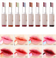 Long Lasting SANUO Lipstick Two Tone Lip Bar Gradient Color Cosmetics Makeup