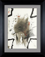 Antoni TAPIES Original 1969 LIMITED Edition Lithograph +Custom ARCHIVAL FRAMING