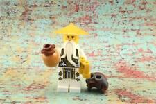 Lego Mini Figure Ninjago Sensei Wu Skybound from Set 70604