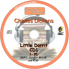 Little Dorrit - Charles Dickens MP3 Audio Book 67 staves/chapters on 2 CDs
