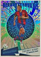 2017 Revolution Thierry Henry #'d 32/49 Revolutionaries Magna Barcelona Arsenal
