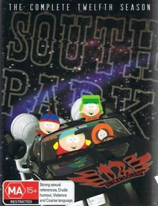 SOUTH PARK DVD The Complete 12th Twelfth Season 12 NEW/SEALED Free Post TRACKED