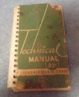 Sylvania Radio Tubes Technical Manual