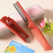 1PC Unisex Foldable Pocket Portable Hair Brush Comb Massage Dual-Head Hair Care
