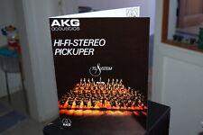 AKG P 8 ES / P7 / P6 / Tonabnehmerproduktblatt original