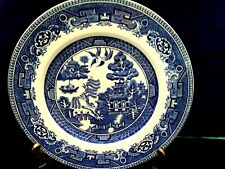 """Vintage Alfred Meakin""""Old Willow""""Dinner Plate Collectible England"""