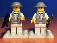 Lego WW2 British Infantry Soldiers