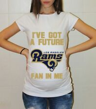 Los Angeles Rams Baby Shirt Baby Shower Football Maternity Shirt Pregnancy Shirt