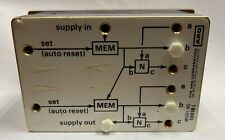 Ingersoll Rand Aro 59898 L 59898l Pneumatic Logic Controller Double Auto Model