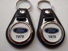 1970 FORD KEYCHAIN 2 PACK CLASSIC TRUCK AND CAR  LOGO