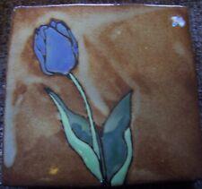 "Arts and Crafts Flower Tile Set, each 4 x 4"""