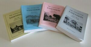 The Annals of Essendon - Volumes 1-4 - by Bob Chalmers - Events from 1850s-2000