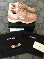 NEW WITH BOX 100% AUTH CHANEL SNEAKERS TRAINERS 19CC SIZE 6 36.5