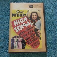 High School (DVD, 2013, Full Screen) Brand New Sealed, Cinema Archieves