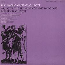 American Brass Quint - Music of Renaissance & Baroque for Brass Quintet [New CD]