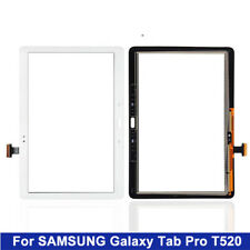 For Samsung Galaxy Tab Pro T520 10.1 SM-T520 White Digitizer Touch Screen Glass