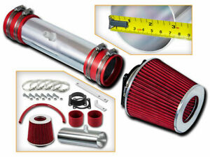 Sport Ram Air Intake Kit + RED Filter for 02-06 Nissan Altima / Murano 3.5L V6