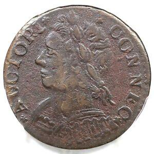 1788 7-E PCGS XF Details Connecticut Colonial Copper Coin