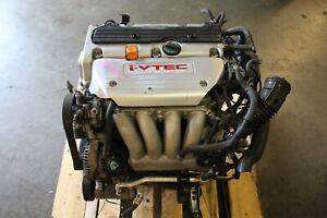 JDM Honda K24A Engine RBB Acura TSX K24A2 iVTEC Honda 2.4 200HP 3 Lobe VTEC