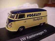 RARE SCHUCO VW T1 BULLI VAN VOGELEY BAKERY GERMANY PROMO 1:43 NEW BOXED 1 OF 250