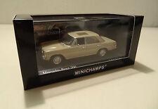 Mercedes-Benz 200 Benziner /8 Strichacht W 115 beige - Minichamps 1:43!