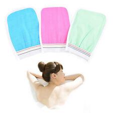 Bath Scrub Glove Shower Body Exfoliating Cloth Sponge Puff Random Delivery S6