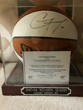 GILBERT ARENAS NBA W/COA SIGNED AUTOGRAPHED BASKETBALL WITH CASE INCLUDED