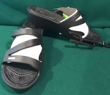 NEW Crocs Patricia Wedge Sandal Slip On Women W 10 Black