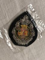 Vintage Argyll and Sutherland Highlanders Regiment Embroidered Patch Scotland