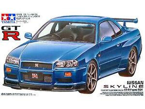 Tamiya - 1/24 Nissan Skyline GT-R V Spec (R34)