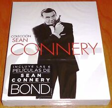 COLECCION SEAN CONNERY James Bond / Bluray disc - 6 peliculas - Precintada