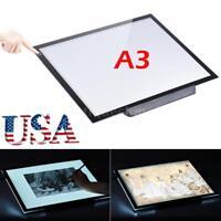 """A3 LED Tracing Light Box Drawing Tattoo Board Pad Table Stencil Artist 21.4"""""""