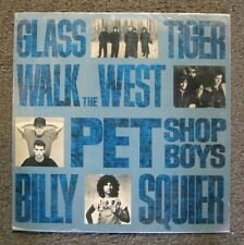 Glass Tiger Walk the West Pet Shop Boys Billy Squier Split Promo LP EMI Brazil