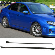 Fit 08-14 Subaru Impreza WRX STI S206 Style Side Skirts 2PC  PU