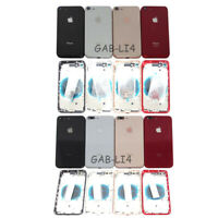 Housing Back Glass Chassis Frame Battery Door Cover For iPhone 8 / iPhone 8 Plus