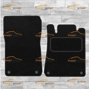 Chrysler Crossfire 2 Seater Fully Tailored Carpet Car Floor Mats Black 4Pc