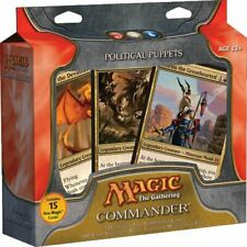 MTG Magic the Gathering Political Puppets New English Commander 2011 Free Ship