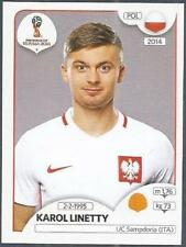 PANINI FIFA WORLD CUP-2018 RUSSIA- #608-POLAND-KAROL LINETTY
