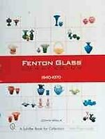 Fenton Glass Compendium, 1940-1970, Hardcover by Walk, John, Brand New, Free ...