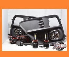 For 15 16 17 Subaru Impreza Wrx Sti LED Fog Light Kit Clear Lens Wiring Switch